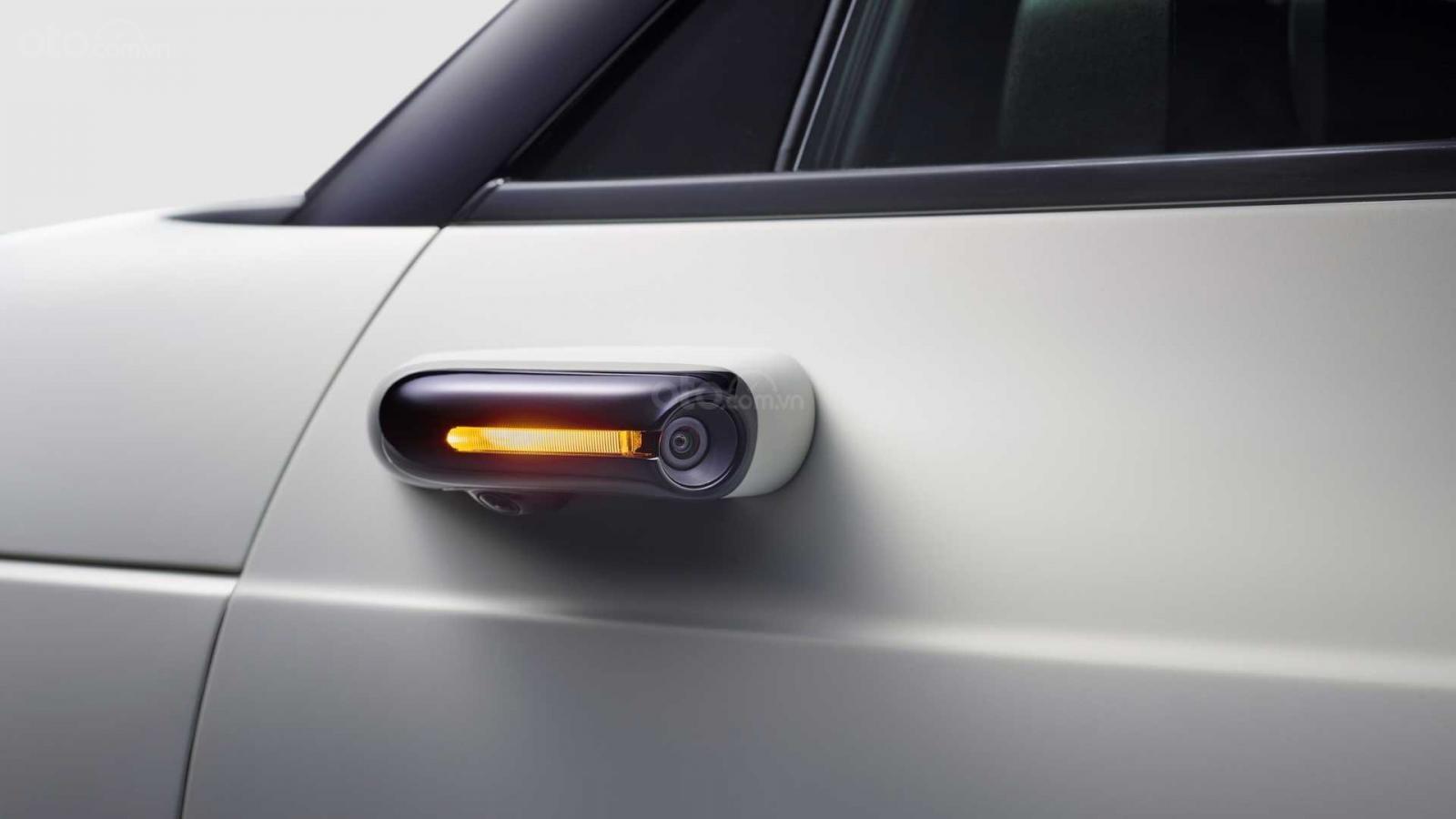 Ô tô điện Honda E gương camera cải thiện tính khí động học
