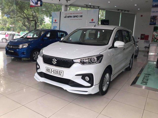 Ảnh Suzuki Ertiga 2019 thế hệ mới