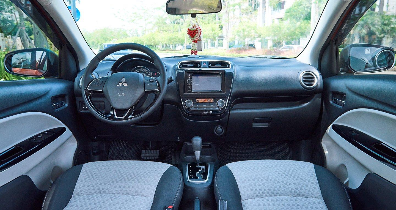 Nội thất xe Mitsubishi Mirage 2019