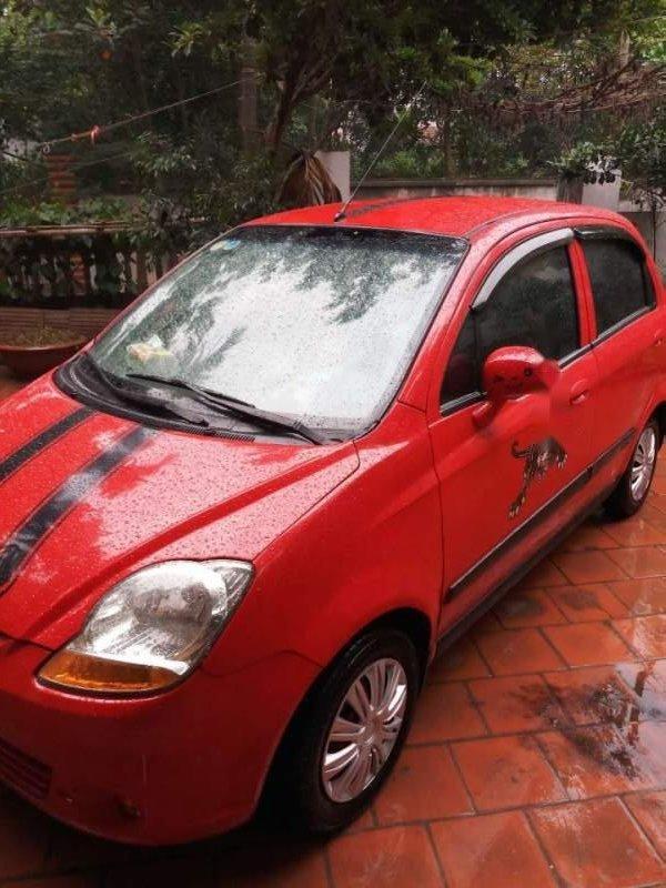 Cần bán lại xe Chevrolet Spark năm sản xuất 2011, màu đỏ-3