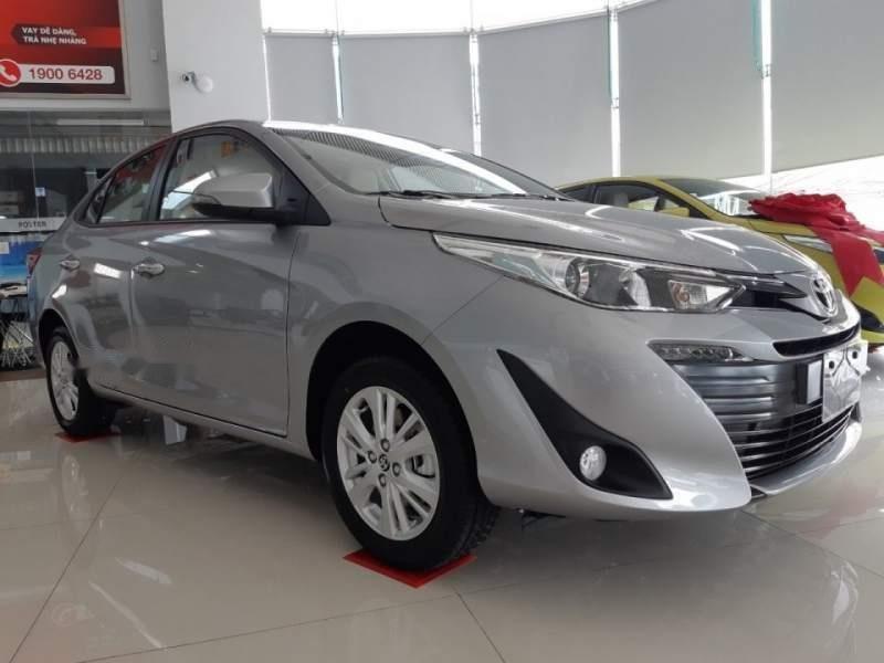 Bán Toyota Vios đời 2019, màu bạc-5