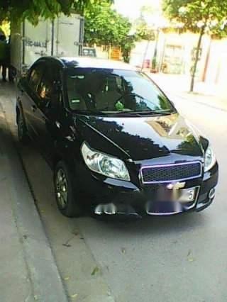 Cần bán gấp Chevrolet Aveo năm sản xuất 2014, màu đen, nhập khẩu, 333tr (2)