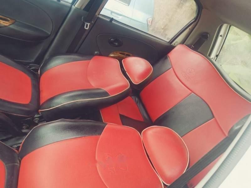 Gia đình bán xe Daewoo Matiz SE sản xuất 2007, màu trắng, nhập khẩu-1