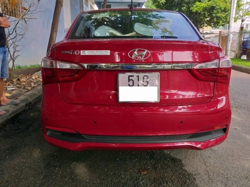 Bán xe Hyundai Grand i10 1.2 AT năm 2017, màu đỏ số tự động (2)