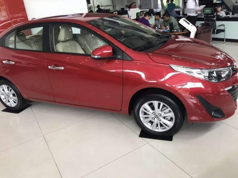 Bán Toyota Vios đời 2019, màu đỏ, xe mới 100%-0