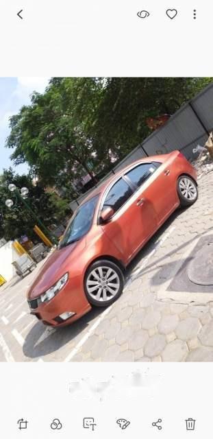 Bán xe Kia Cerato đời 2011, xe nhập, màu cam-0
