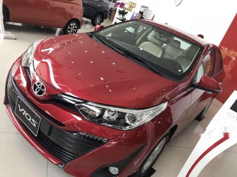 Bán Toyota Vios đời 2019, màu đỏ, xe mới 100%-1