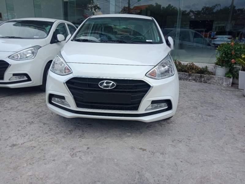 Bán xe Hyundai Grand i10 2019, màu trắng, bản đủ-2
