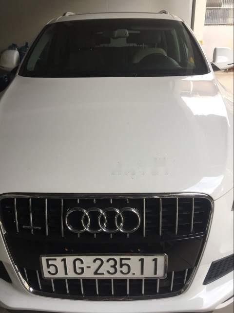 Bán Audi Q7 năm sản xuất 2007, màu trắng, đi 84000km-5