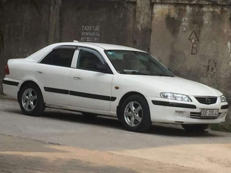 Cần bán lại xe Mazda 626 năm sản xuất 2001, màu trắng giá cạnh tranh-3