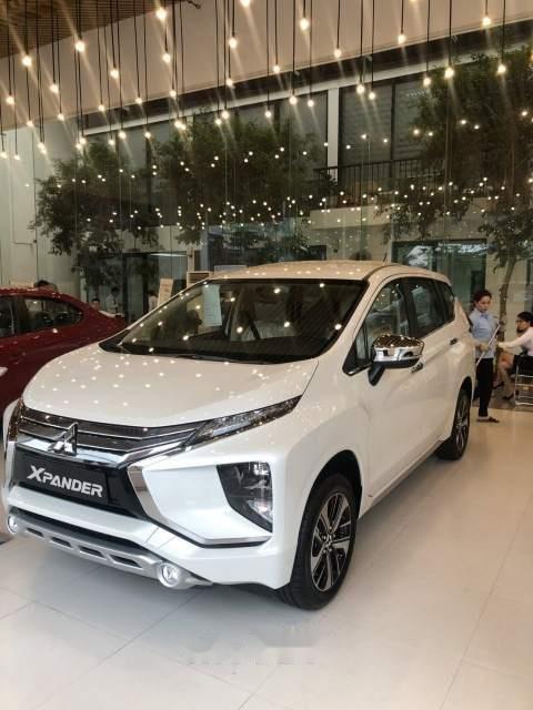 Bán ô tô Mitsubishi Xpander năm sản xuất 2019, màu trắng, xe nhập, giá chỉ 620 triệu (1)