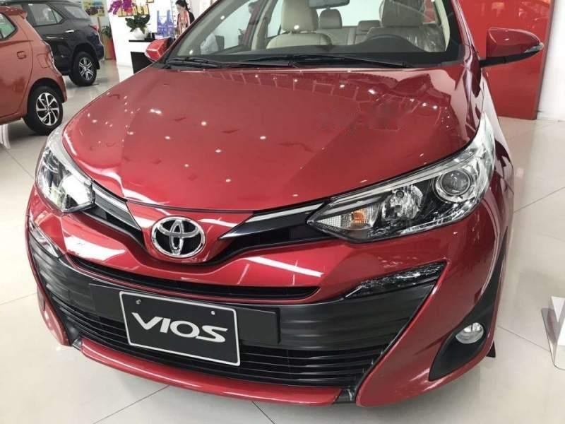 Bán Toyota Vios đời 2019, màu đỏ, xe mới 100%-3
