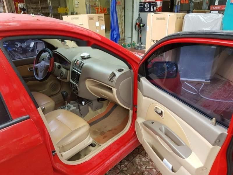 Gia đình bán xe Kia Morning AT đời 2005, màu đỏ, xe nhập, giá 159tr-3