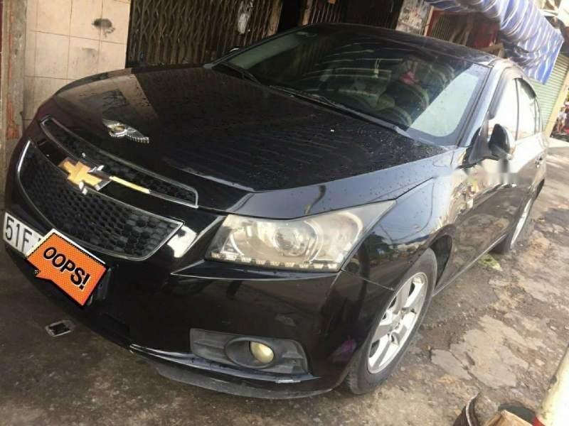 Bán Chevrolet Cruze sản xuất năm 2012, màu đen, xe nhập số sàn-0