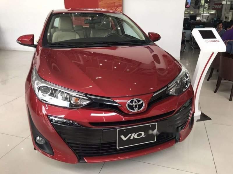 Bán Toyota Vios đời 2019, màu đỏ, xe mới 100%-2
