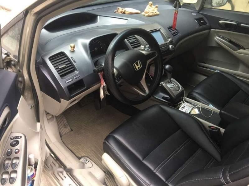 Bán Honda Civic đời 2008, màu vàng, nhập khẩu, bản 2.0-4