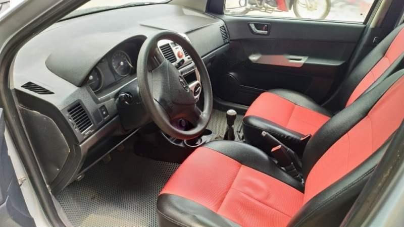 Bán xe Hyundai Getz 1.1 MT sản xuất 2009, màu bạc số sàn  -4