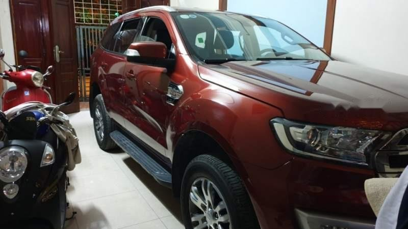 Bán Ford Everest năm sản xuất 2016, màu đỏ, nhập khẩu Thái-2