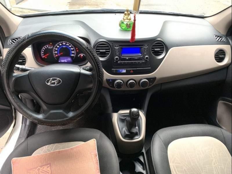 Bán xe Hyundai Grand i10 năm 2016, màu trắng, nhập khẩu nguyên chiếc, giá tốt-4