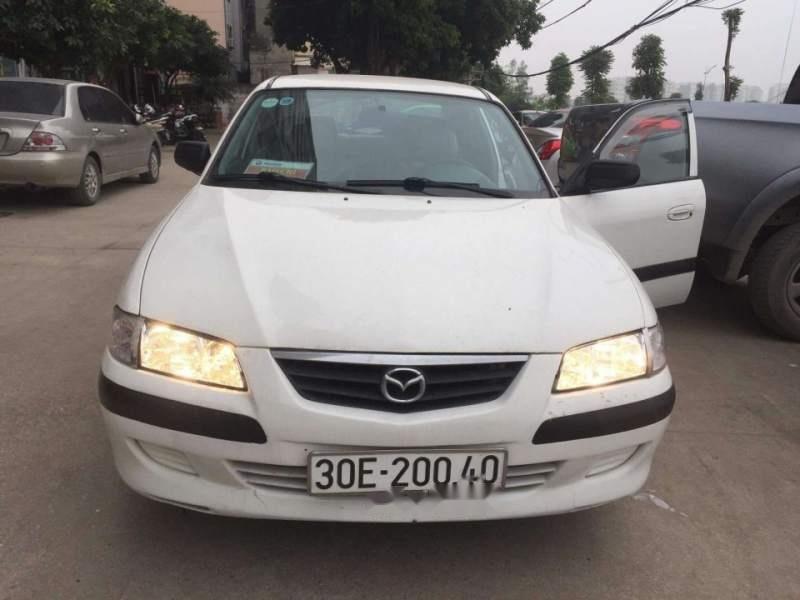 Cần bán lại xe Mazda 626 năm sản xuất 2001, màu trắng giá cạnh tranh-0
