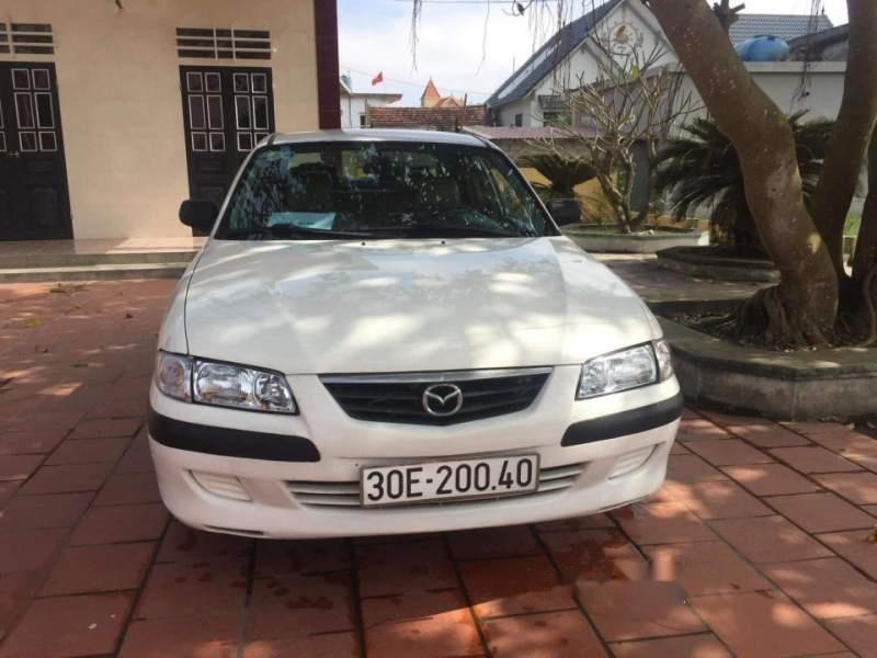 Cần bán lại xe Mazda 626 năm sản xuất 2001, màu trắng giá cạnh tranh-5