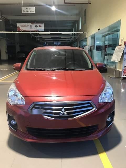 Bán Mitsubishi Attrage MT đời 2019, màu đỏ, nhập khẩu nguyên chiếc-0