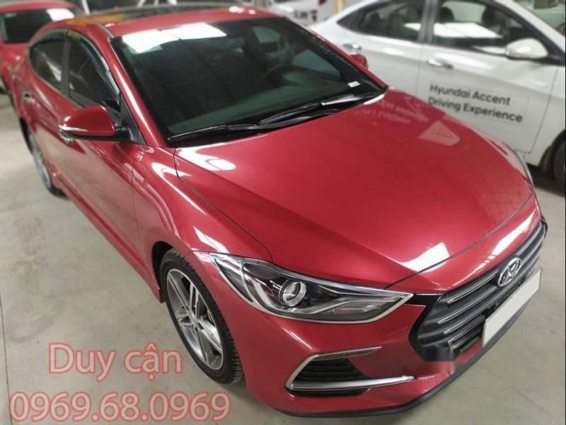 Bán xe Hyundai Elantra 1.6AT Sport đời 2018, màu đỏ số tự động, 728tr-0