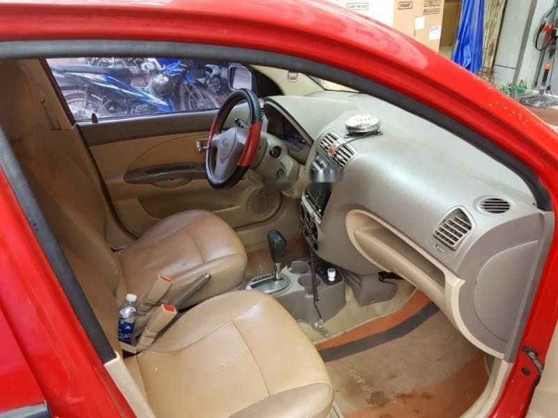 Gia đình bán xe Kia Morning AT đời 2005, màu đỏ, xe nhập, giá 159tr-5