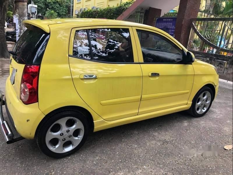 Gia đình bán xe Kia Morning đời 2008, ĐK lần đầu 2013, màu vàng (2)