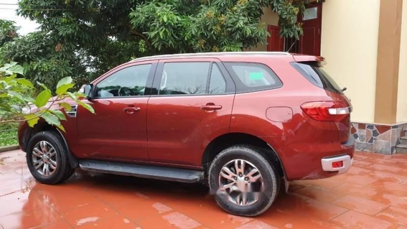 Bán Ford Everest năm sản xuất 2016, màu đỏ, nhập khẩu Thái-0