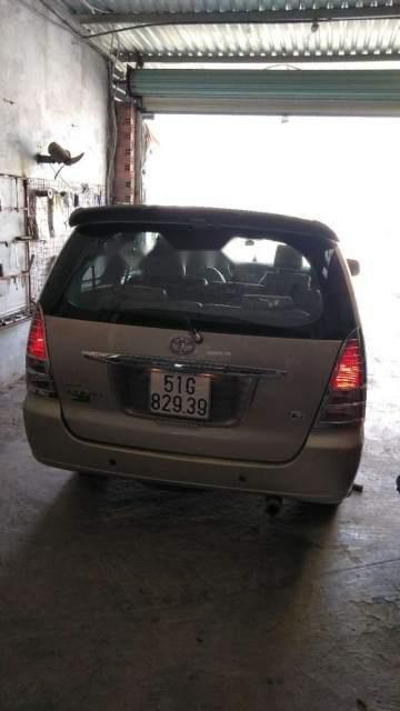 Bán Toyota Innova G đời 2008, màu vàng cát, xe đẹp-1
