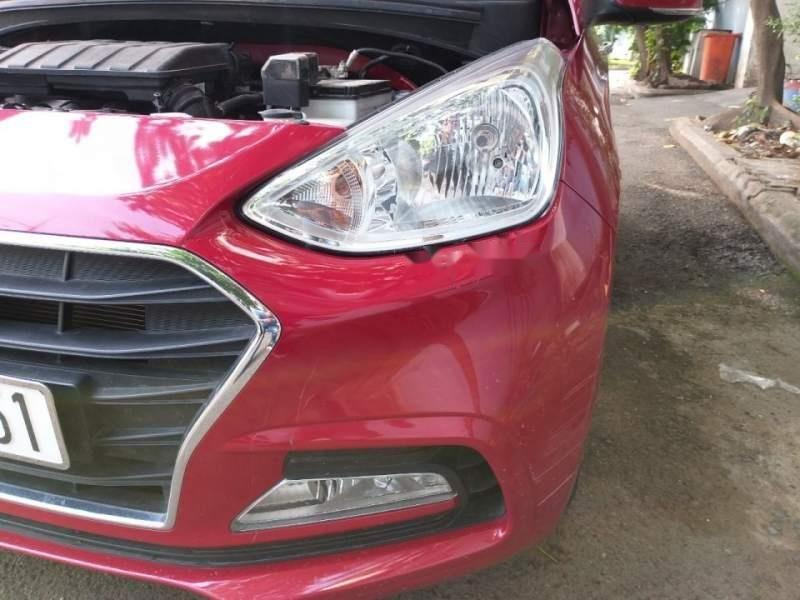 Bán xe Hyundai Grand i10 1.2 AT năm 2017, màu đỏ số tự động (6)