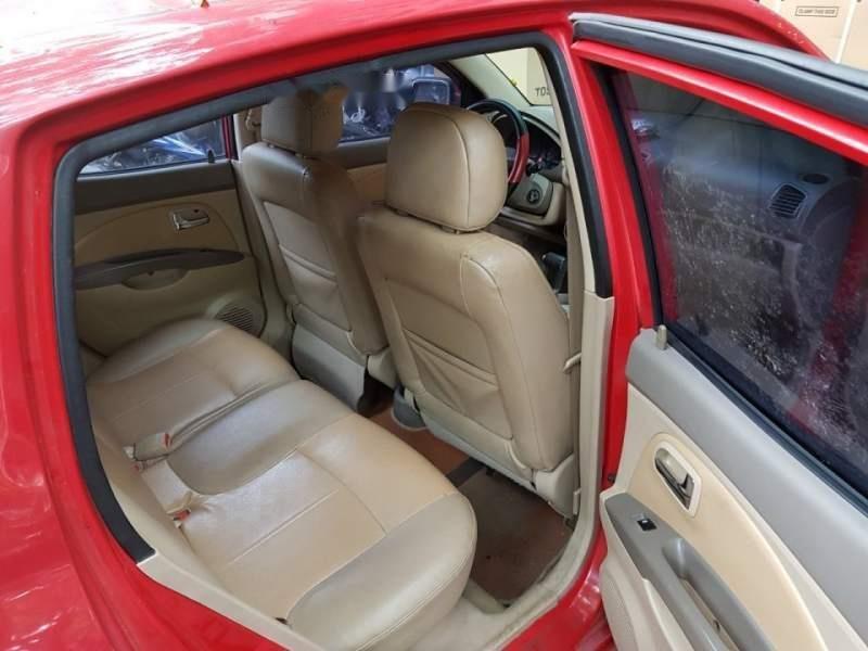 Gia đình bán xe Kia Morning AT đời 2005, màu đỏ, xe nhập, giá 159tr-1