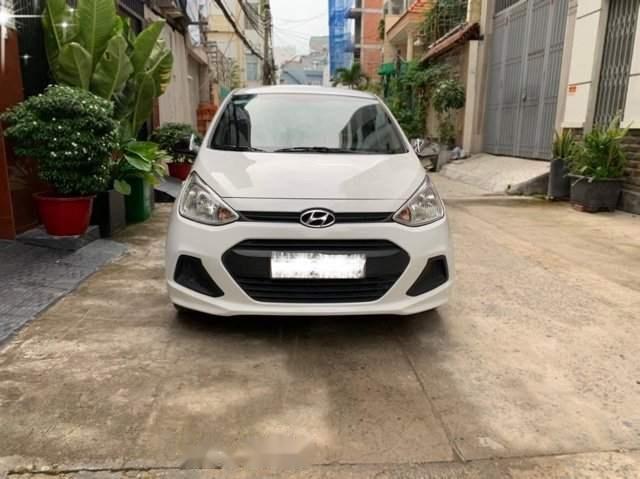 Bán xe Hyundai Grand i10 năm 2016, màu trắng, nhập khẩu nguyên chiếc, giá tốt-2