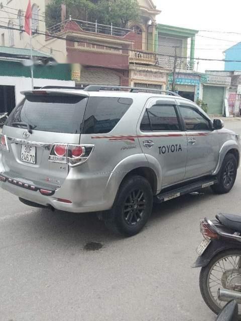 Bán xe Toyota Fortuner G sản xuất năm 2016, màu bạc   (1)