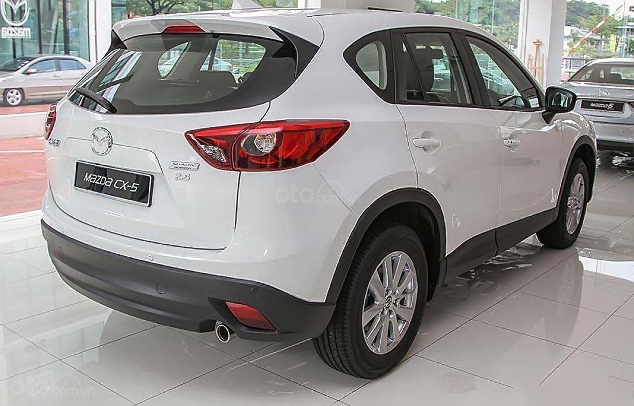 Bán xe Mazda CX 5 năm 2018, màu trắng còn mới giá cạnh tranh-1