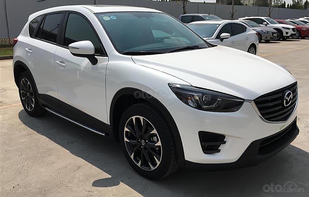 Bán xe Mazda CX 5 năm 2018, màu trắng còn mới giá cạnh tranh-0