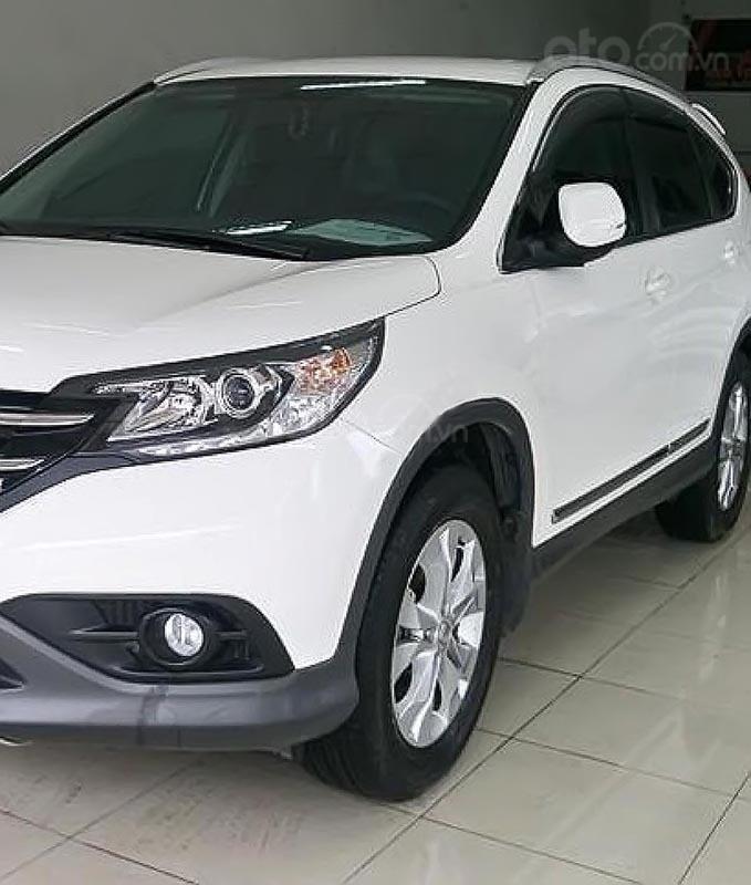 Bán Honda CR V năm sản xuất 2014, màu trắng, nhập khẩu nguyên chiếc chính chủ-0