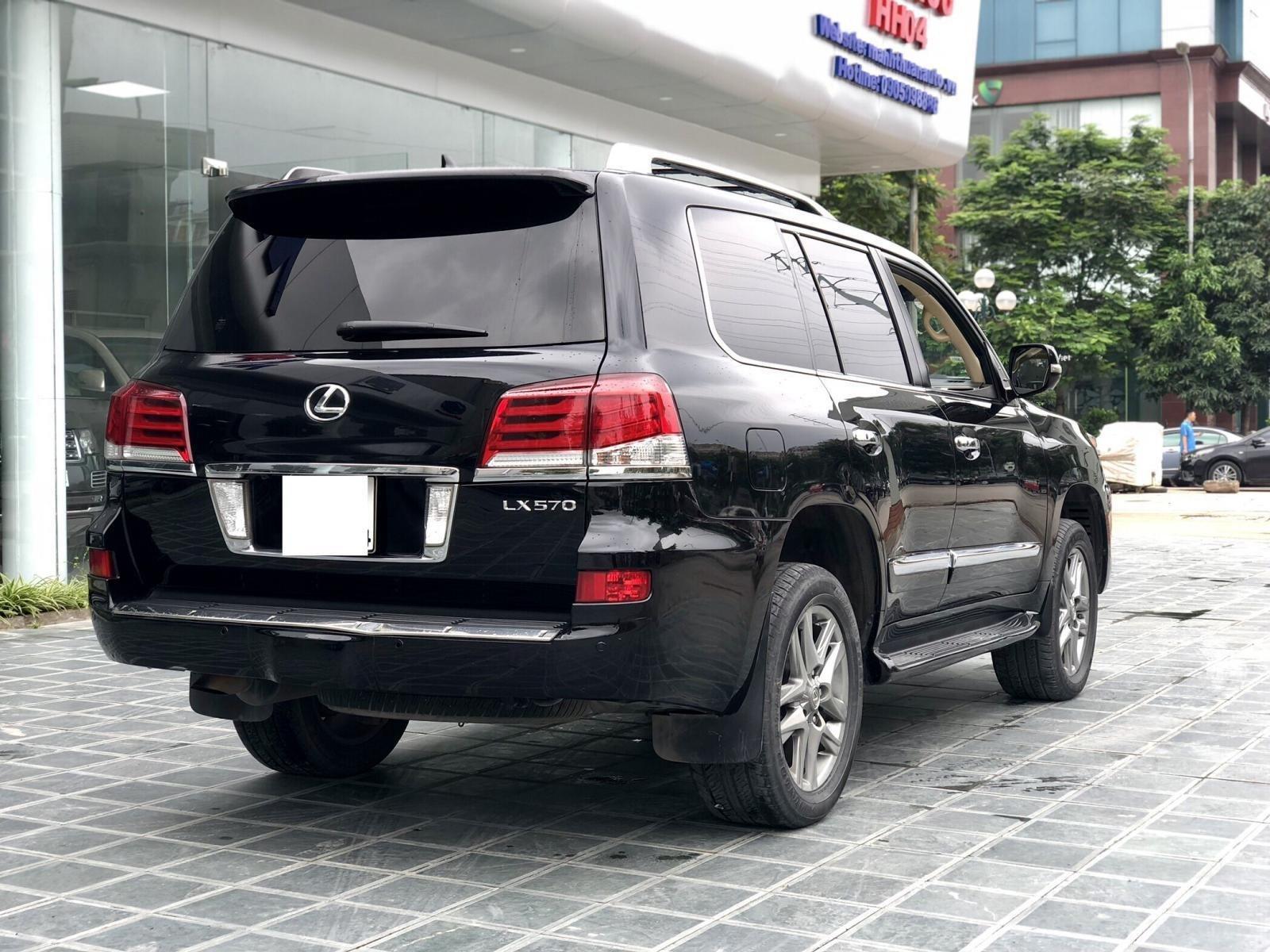 Cần bán Lexus LX 570 Mỹ sx 2014 đăng kí 2015, màu đen xe cực đẹp-7