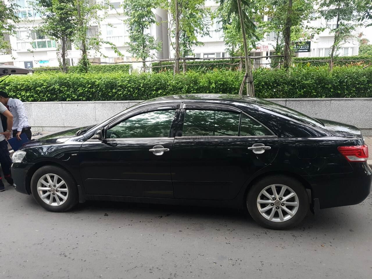 Bán Toyota Camry 2.4G đời 2012, màu đen-0