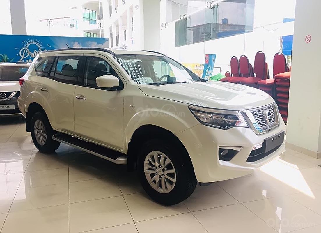 Bán Nissan Terra S 2018, màu trắng, nhập khẩu, giá chỉ 839 triệu-0