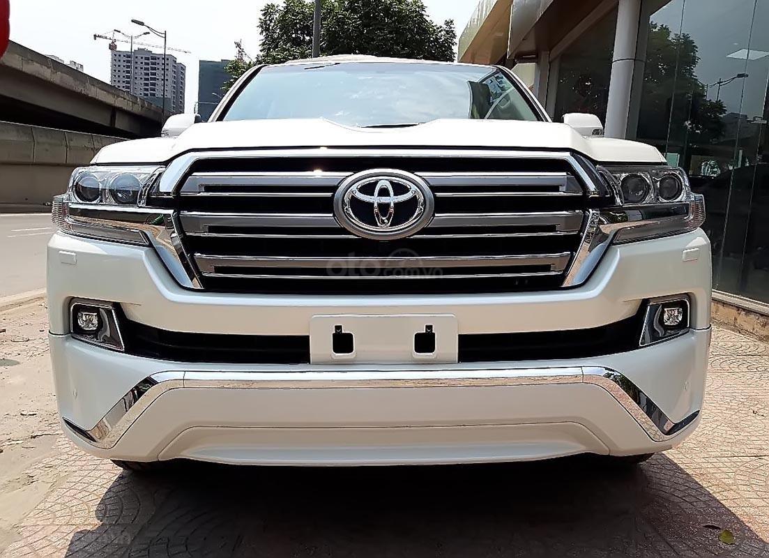 Bán Toyota Land Cruiser VX 4.6 V8 năm 2019, màu trắng, nhập khẩu-0