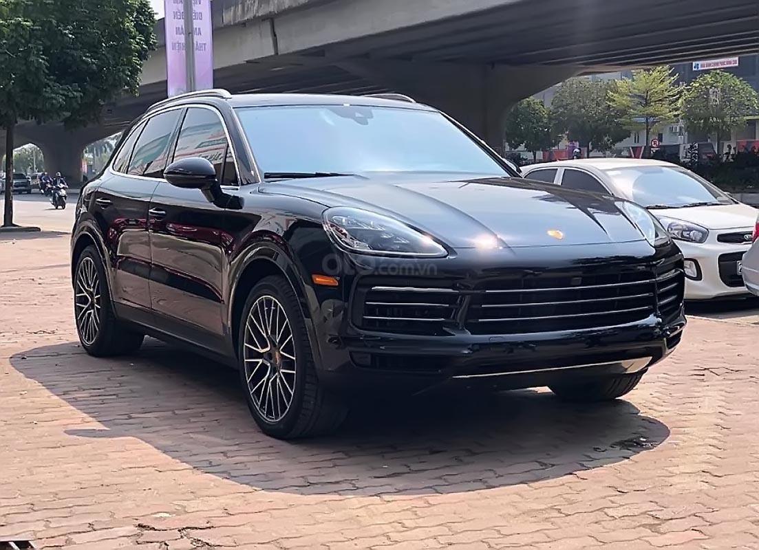 Bán ô tô Porsche Cayenne 3.0 V6 đời 2019, màu đen, xe nhập-2
