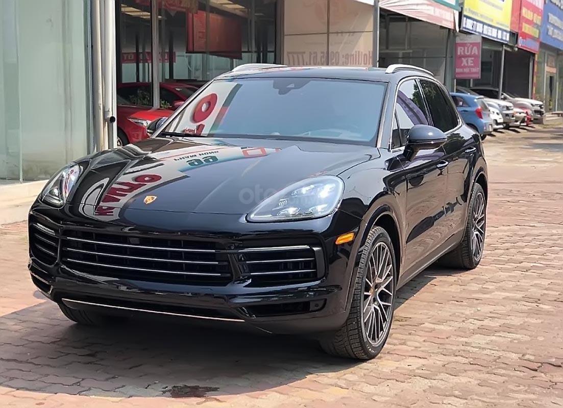 Bán ô tô Porsche Cayenne 3.0 V6 đời 2019, màu đen, xe nhập-3