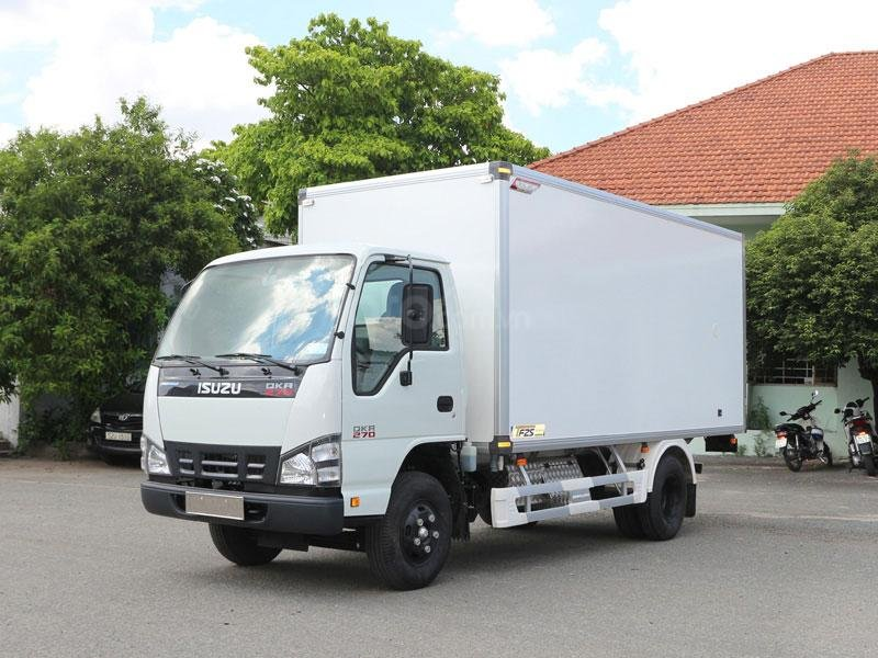 Cần bán Isuzu QKR 270 2019, màu trắng, nhập khẩu nguyên chiếc  -0