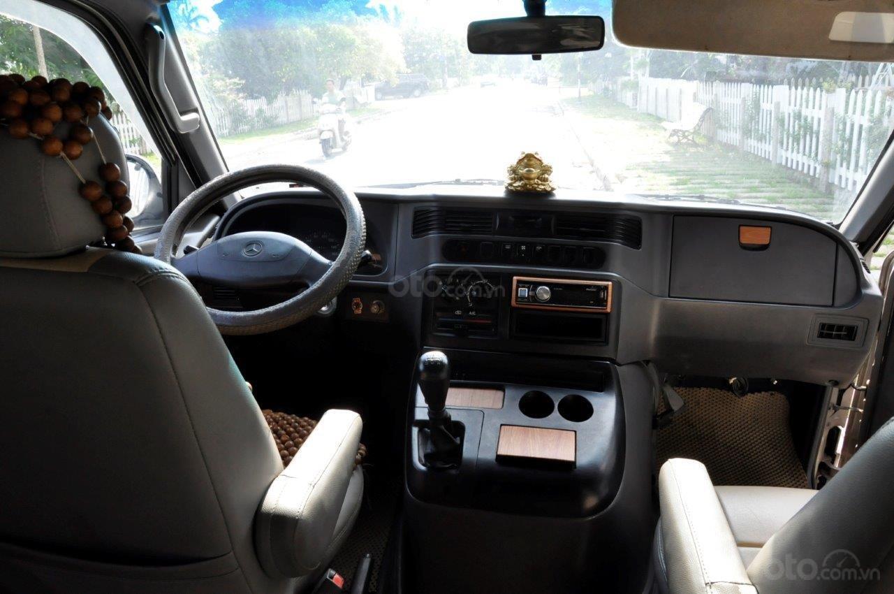 Cần bán Mercedes MB 100 sản xuất 2002, màu bạc ít sử dụng giá cạnh tranh-10