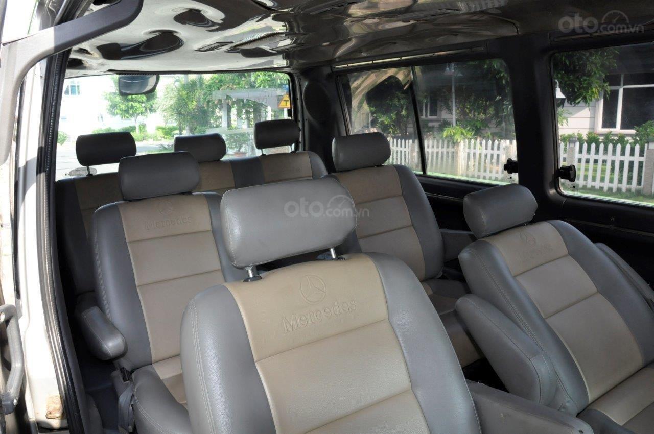 Cần bán Mercedes MB 100 sản xuất 2002, màu bạc ít sử dụng giá cạnh tranh-7