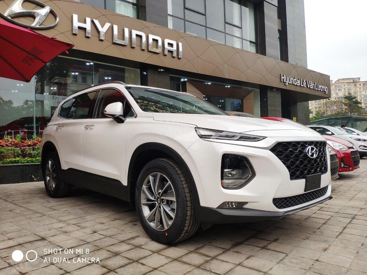 Hyundai Santa Fe Model 2019 đầy đủ màu và các phiên bản giao ngay + KM lớn 30 triệu - Ms Lan 0919929923 (1)