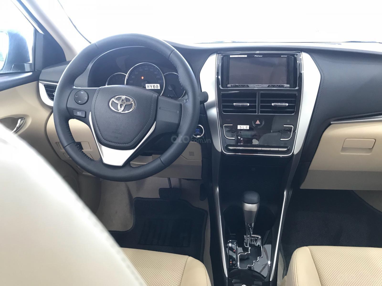 Toyota Vios G 2019 số tự động, màu trắng, giá giảm mạnh, nay chỉ còn 571 triệu full option-3