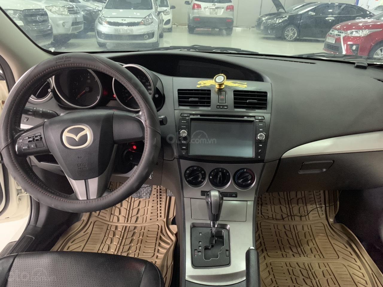 Bán xe Mazda 3 sản xuất năm 2010, màu trắng, xe nhập-8